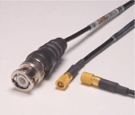 Photograph of a Microdot/BNC cable assembly available at MicroAcoustic.