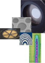 Collage photo of MicroAcoustic products & technologies.