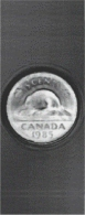 "An ultrasonic ""photograph"" of a Canadian nickel acquired in air using MicroAcoustic's BAT transducers - one of the many new applications made possible by MicroAcoustic technologies."